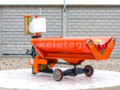 Bale wrapper for Komondor RKB850, RKB870 and RKB1070 round balers - Implements -