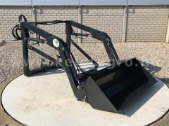 Front loader for Yanmar AF-30 Japanese compact tractors, Komondor MHR-100AF30 - Implements -
