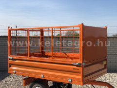 Extra high side panel kit(wire mesh) for Komondor SPK series trailers - Implements - Trailors