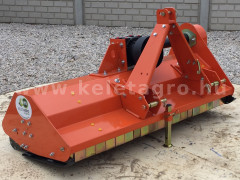 Flail mower 145 cm, with reinforced gearbox, for Japanese compact tractors, EFGC145, SPECIAL OFFER! - Implements -