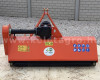 Flail mower 145 cm, with reinforced gearbox, for Japanese compact tractors, EFGC145, SPECIAL OFFER! (4)