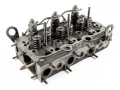 Kubota D750 cylinder head, assembled, used - Compact tractors -