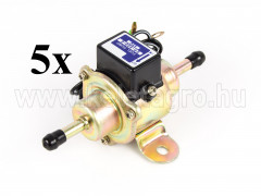 Fuel pump, electrical, for Japanese compact tractors, set of  5 pieces - Compact tractors -