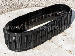 Rubber crawler track set 330x84x37 NS, used - Compact tractors -