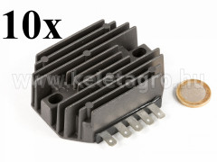 Voltage regulator, 5-legged, for Japanese compact tractors, set of 10 pieces, SPECIAL OFFER! - Compact tractors -