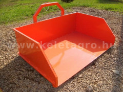 Transport box 130 cm, for Japanese compact tractors, Komondor SZL-130 - Implements - Transport and Loader Implements