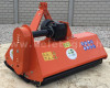 Flail mower 125cm, with reinforced gearbox, for Japanese compact tractors, EFGC125, SPECIAL OFFER (5)