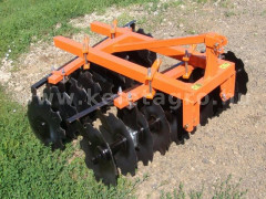 Disc harrow 160 cm, for Japanese compact tractors, Komondor SFT-160 - Implements -