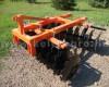 Disc harrow 160 cm, for Japanese compact tractors, Komondor SFT-160 (3)