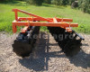 Disc harrow 160 cm, for Japanese compact tractors, Komondor SFT-160 (4)