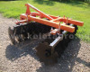 Disc harrow 160 cm, for Japanese compact tractors, Komondor SFT-160 (5)