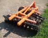Disc harrow 160 cm, for Japanese compact tractors, Komondor SFT-160 (6)