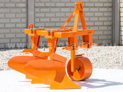 Plow with 2 heads, for 16-23HP Japanese compact tractors, Komondor SE-2 - Implements - Plows